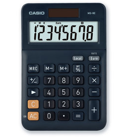 Casio Tischrechner, MS-8E, angewinkeltes Display, 8stellig