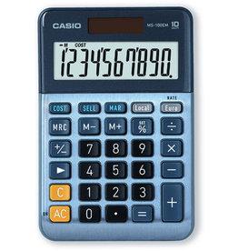 Casio Tischrechner, MS-100EM, angewinkeltes Display, 10stellig