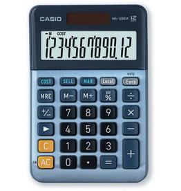Casio Tischrechner, MS-120EM, angewinkeltes Display, 12stellig