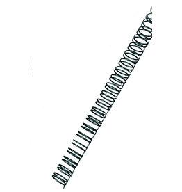 GBC Binderücken, Draht, 34R.-3:1, A4, Ø: 8 mm, für: 60 Blatt, schwarz
