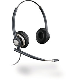 PLANTRONICS Headset EncorePro 700, HW720, Kopfbügel, Duo, QD™-Stecker, 72 g