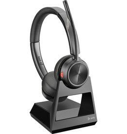 PLANTRONICS Headset, Savi 7220 Office, Kopfbügel, Stereo, 138 g, DECT, schwarz
