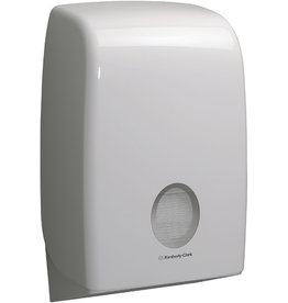 AQUARIUS* Handtuchspender, Kunststoff, abschließbar, 26,5x13,6x39,9cm, weiß
