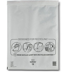 Mail Lite Luftpolstertasche, hk, Typ: K/7, 370x480mm, i: 350x470mm, Papier, weiß