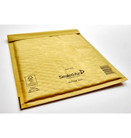 Mail Lite Luftpolstertasche, sk, Typ: E/2, i: 220 x 260 mm, Kraftpapier, gold