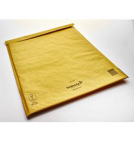 Mail Lite Luftpolstertasche, sk, Typ: K/7, i: 350 x 470 mm, Kraftpapier, gold