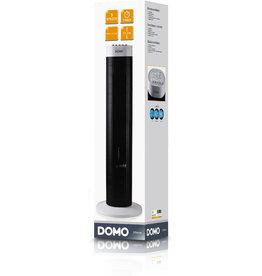 DOMO Turmventilator DO8125, 3 Leistungsstufen, H: 77 cm, schwarz/silber