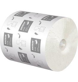 KATRIN Papierhandtuch Plus System M2, 2lagig, Rolle, 20,9 cm x 130 m, weiß
