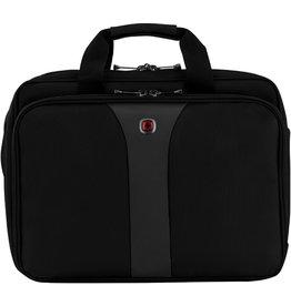 WENGER Laptoptasche LEGACY, D: 33,78 - 39,62 cm, schwarz/grau