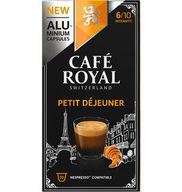 CAFÉ ROYAL Kapsel, PETIT DÉJEUNER, koffeinhaltig, ergibt: 110 ml, 10 x 5,2 g