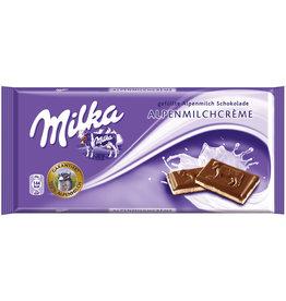 Milka Schokotafel, ALPEN-MILCHCREME
