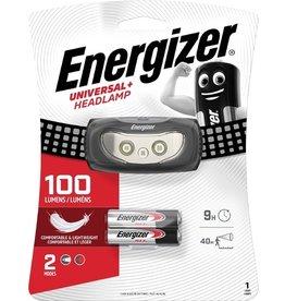 Energizer Kopflampe UNIVERSAL+, 2 x AAA, mit Batterien, Reichw.: 40 m, schwarz