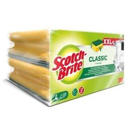 Scotch-Brite Reinigungsschwamm Classic, XXL, gelb/grün