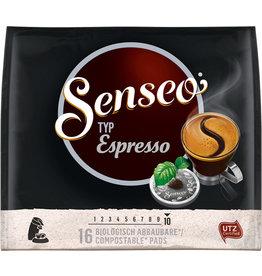 Senseo Kaffeepad, Espresso, koffeinhaltig, 16 x 6,9 g