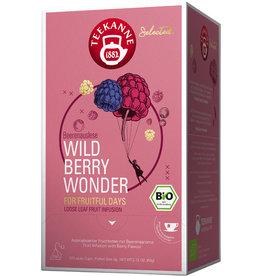 TEEKANNE Früchtetee WILD BERRY WONDER, Bio, Beutel aromaversiegelt, 20 x 3 g