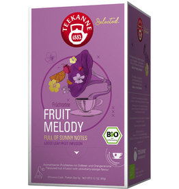 TEEKANNE Früchtetee Fruit Melody, Bio, Beutel aromaversiegelt, 20 x 3 g