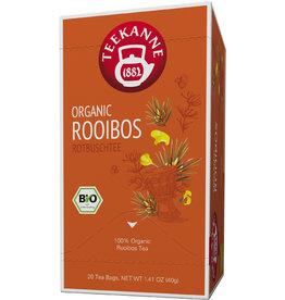 TEEKANNE Rooibostee ORGANIC ROOIBOS, Beutel kuvertiert, 20 x 2 g