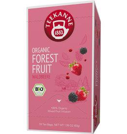 TEEKANNE Früchtetee ORGANIC FOREST FRUIT, Beutel kuvertiert, 20 x 2,5 g