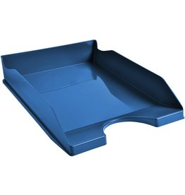EXACOMPTA Briefkorb Clean´Safe, PS(RC), A4+, 255 x 345 x 65 mm, blau