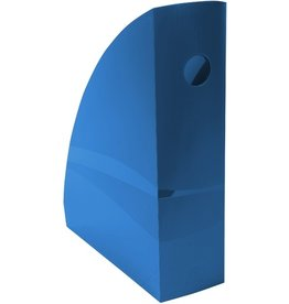 EXACOMPTA Stehsammler Clean´Safe, PS(RC), A4+, 8,2 x 26,6 x 30,5 cm, blau