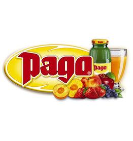 Pago Fruchtsaft, Pfirsich, Glasflasche, 24 x 0,2 l