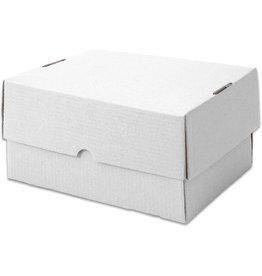 Pressel Versandkarton, Wellp., 1w., B, i: 215x152x150mm, weiß, FEFCO: 0330