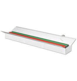 Pressel Versandkarton, Wellpappe, doppelter Deckel, i: 800 x 130 x 90 mm, weiß