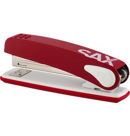 SAX Heftgerät 249, mechanisch, für: 24/6 + 26/6, 25 Blatt, rot