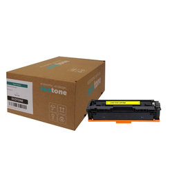 Ecotone HP 207A (W2212A) toner yellow 1250 pages (Ecotone)