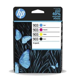 HP HP 903 (6ZC73AE) ink clr 3x315 + bk 1x300 pages (original)
