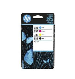 HP HP 932/933 (6ZC71AE) ink clr 3x330 + bk 1x400p (original)