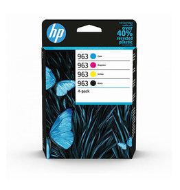 HP HP 963 (6ZC70AE) ink clr 3x700 + bk 1x1000 pages (original)