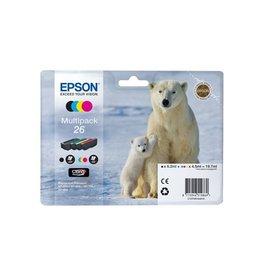 Epson Epson 26 (C13T26164010) multipack c/m/y/bk 1120p (original)