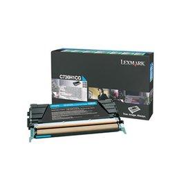Lexmark Lexmark C736H1CG toner cyan 10000 pages return (original)