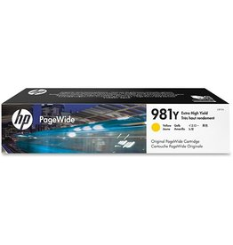 HP HP 981Y (L0R15A) ink yellow 16000 pages (original)