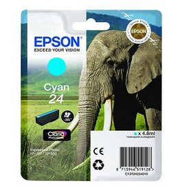 Epson Epson 24 (C13T24224010) ink cyan 360 pages (original)