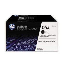 HP HP 05A (CE505D) toner black 2x2300 pages (original)