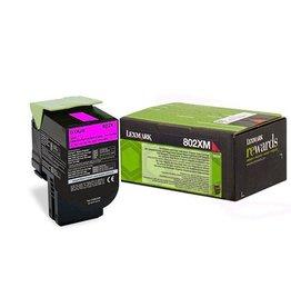 Lexmark Lexmark 802XM (80C2XM0) toner magenta 4K return (original)