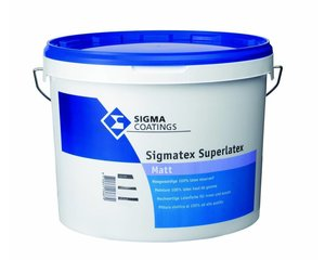 Sigma Sigmatex Superlatex Matt Wit of lichte kleur