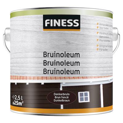 Finess Bruinoleum Donkerbruin