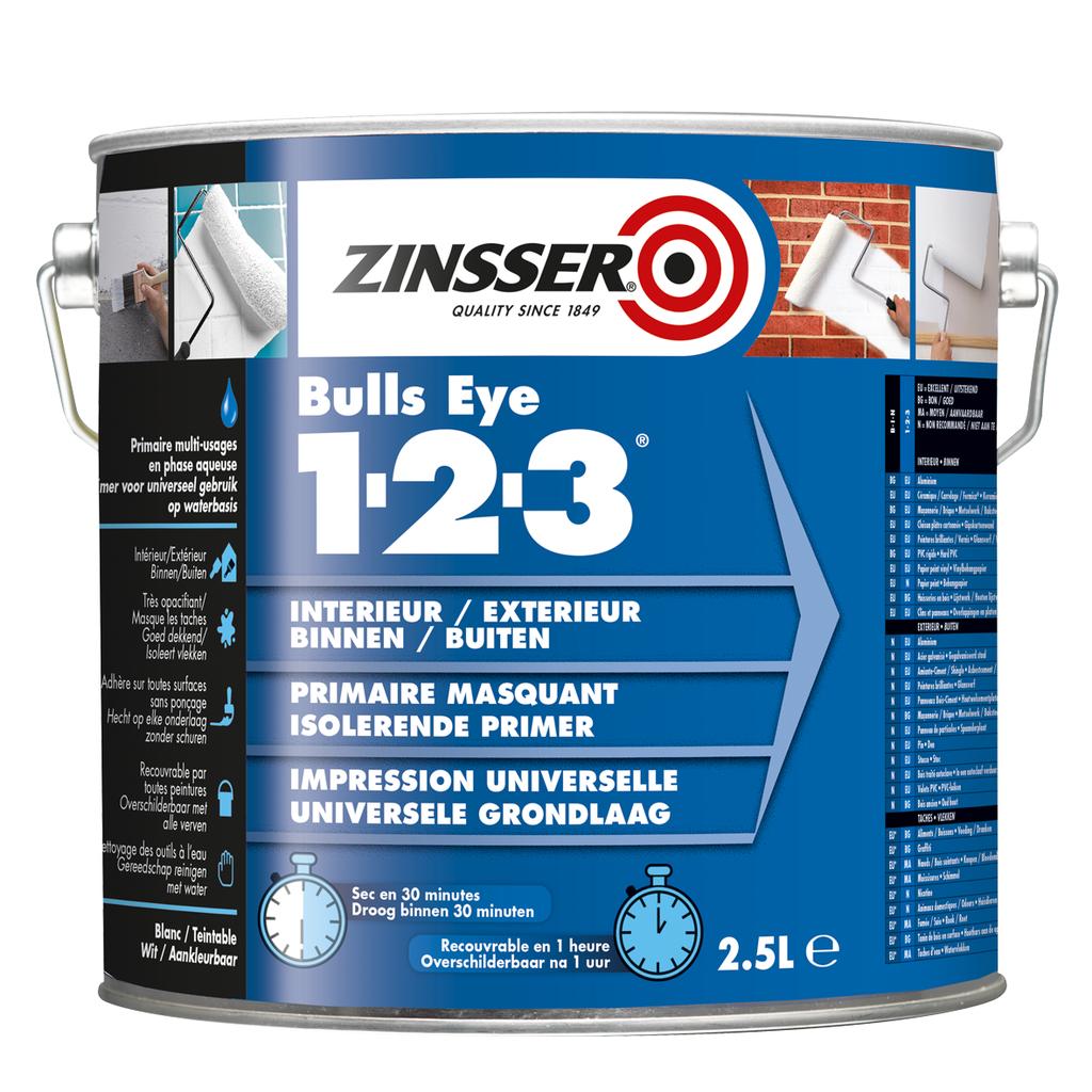 Zinsser Bulls Eye 1-2-3