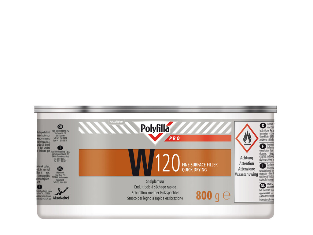Polyfilla Pro W120 Snelplamuur