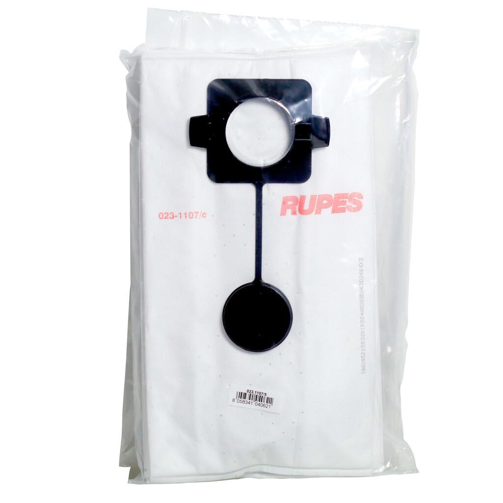 Rupes Filter- Stof zakken, 5 st, t.b.v. de SV10E