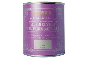 Rust-Oleum Chalky Finish Meubelverf Zilver Metallic Finish