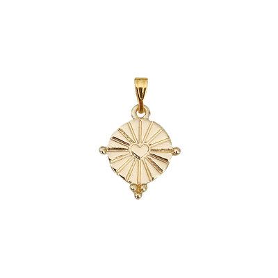 Shining Heart Coin - Goud