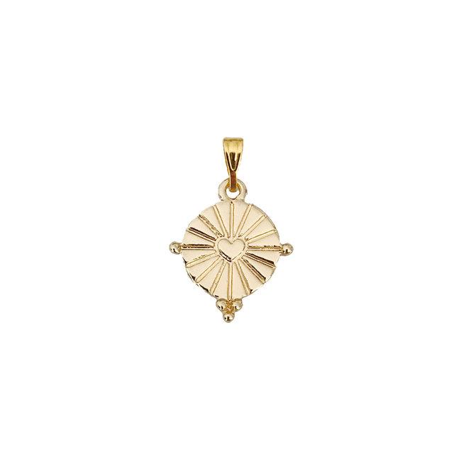 Shining Heart Coin - Gold