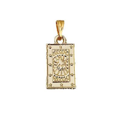 Shining Sun Amulet - Goud