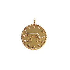 Leopard coin - Gold