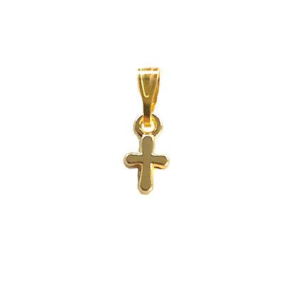 Tiny Cross - Gold