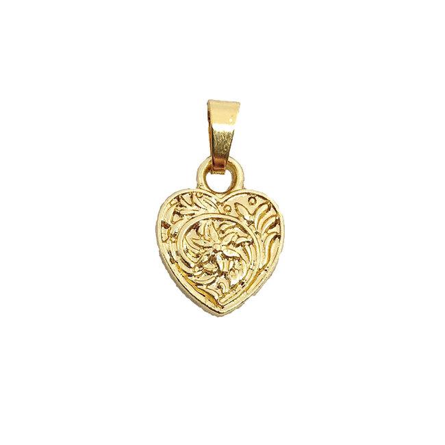 Vintage Heart - Gold